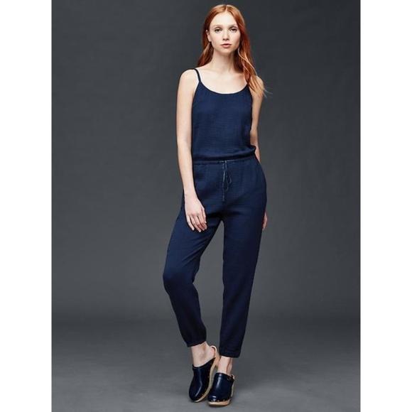 3b2c4327fe070 GAP Pants | 100 Cotton Gauze Jumpsuit | Poshmark